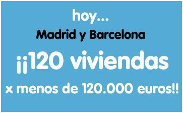 Pisos de banco de banesto en madrid y barcelona por 120 for Pisos de bancos en barcelona